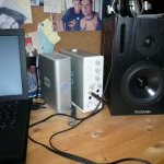 Monitors and soundcard
